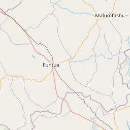 Distance from Zaria Nigeria to Kaduna Nigeria