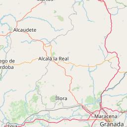 Karta Spanien Granada.Vader Granada Vackertvader Se